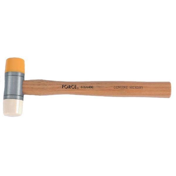 Молоток резиновый 400гр. (616A400 Force)
