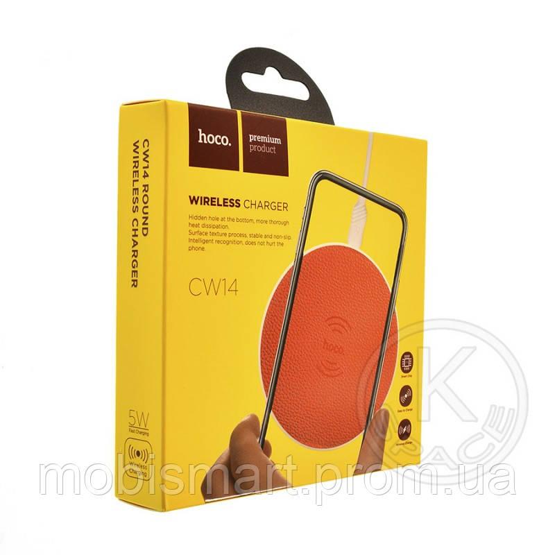 Беспроводное зарядное устройство Hoco CW14 red