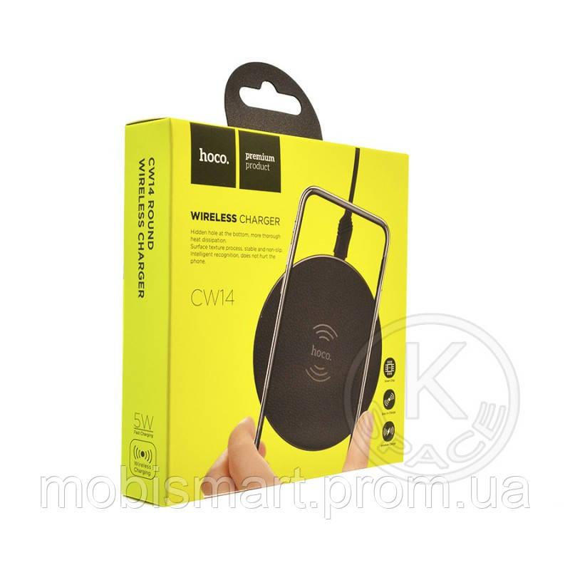 Беспроводное зарядное устройство Hoco CW14 black