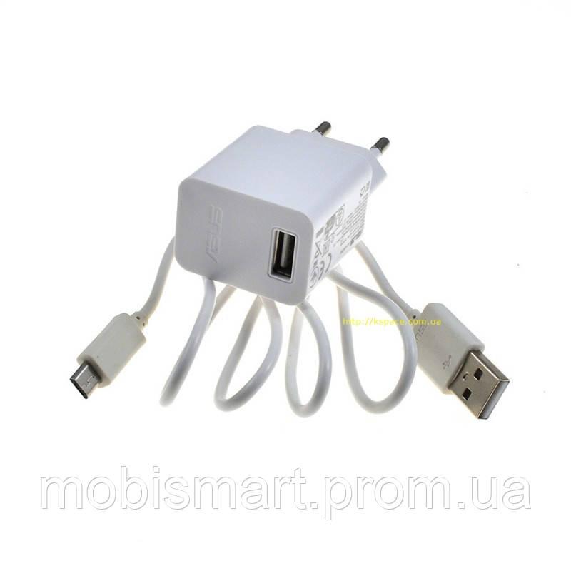 СЗУ Asus (5V-1.35A) Micro 2in1 original box white