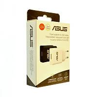 СЗУ 1USB Asus YJ-06 (5V-2A) micro 2in1 black