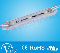 Світлодіодний модуль  M183TA, кластер білий 7000К 0.7вт для реклами