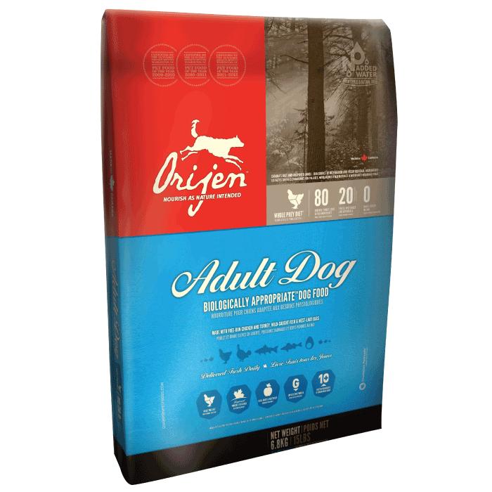 ORIJEN Original Dog 6 кг ориджен для взрослых собак всех пород