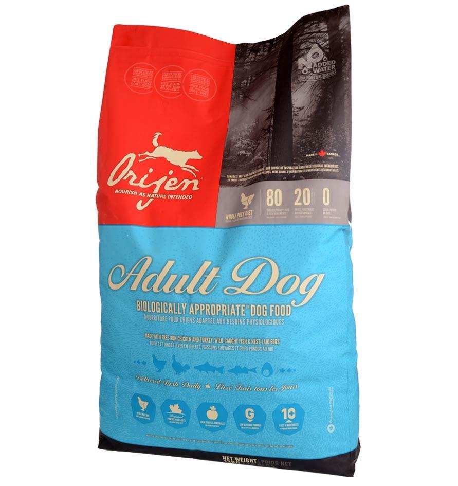 ORIJEN Original Dog 17 кг ориджен для взрослых собак всех пород