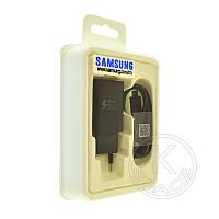 СЗУ USB Samsung Fast Charging (5V-2A) EP-TA300 original box 2in1 black