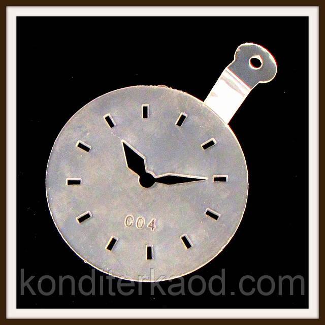Трафарет маленький диаметр 7,4 см Часы