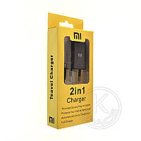 СЗУ Xiaomi (5V-2.0A) 2in1 micro (original box) black