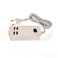 СЗУ 15W 4 port USB 5V-3A (1.5m)