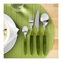 DITO   Столовый набор,24 предмета, зеленый