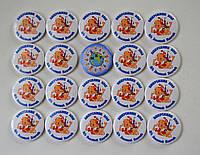 Значки Для выпускников детского сада Золотой ключик