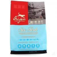 Корм для собак ORIJEN 6 Fresh FISH Dog 2,27 кг ориджен для взрослых собак всех пород (6 видов рыб)