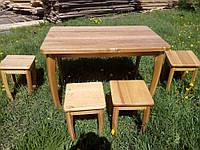 Комплект кухонной мебели из ольхи