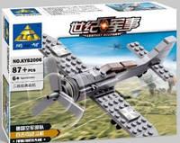 Конструктор Brick Военный самолет 82006
