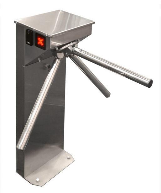 Турникет- трипод CENTURION, полированная нержавеющая сталь
