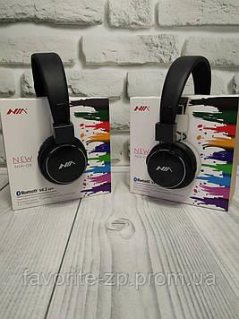 Беспроводные Bluetooth стерео наушники NIA Q8 с МР3, FM