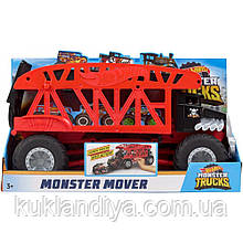Hot Wheels Monster Trucks Monster Mover большой грузовик-монстр Автоперевозчик монстер треков