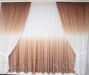 Красивый комплект штор в гостиную интернет магазин