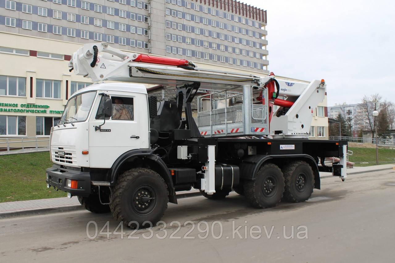 Аренда телескопических автовышек в Киеве