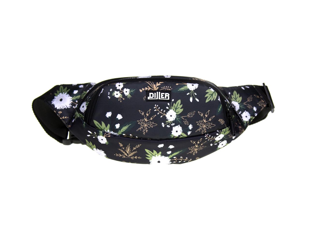 Поясная сумка Dark Blossom
