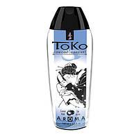 Лубрикант съедобный на водной основе Shunga Toko AROMA - Coconut Water Кокосовое молоко (165 мл) для орального и вагинального секса (Шунга, Сюнга)