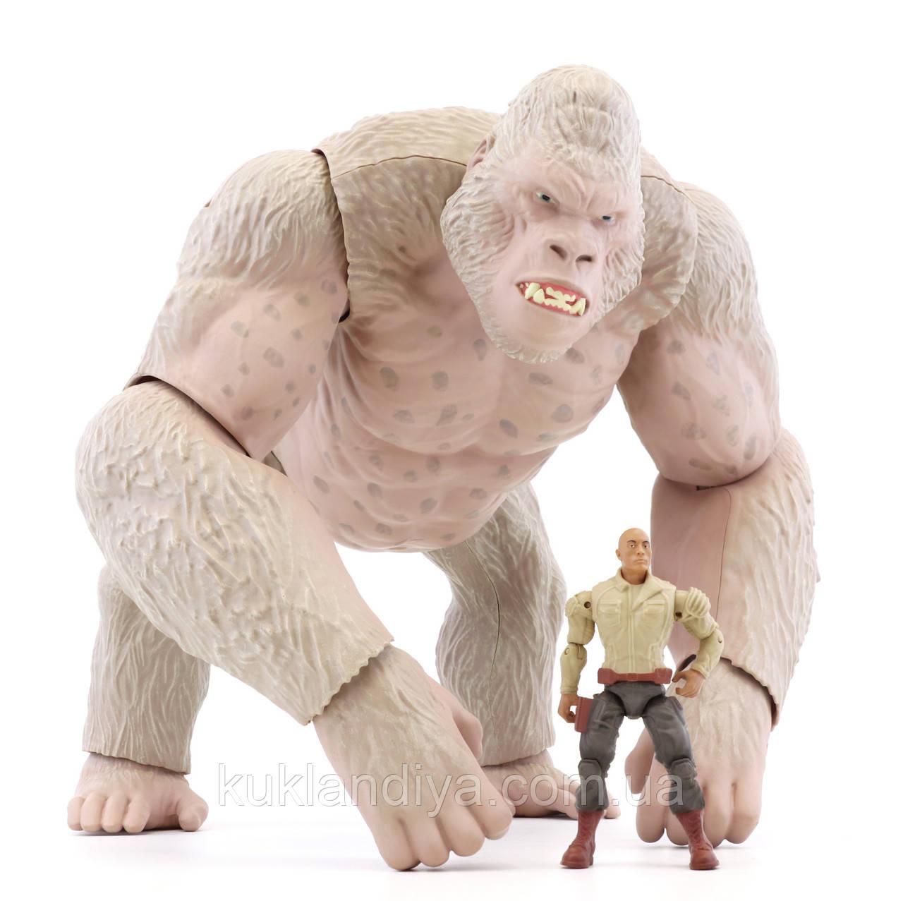 Игрушка горилла Мега-Джордж Рэмпейдж
