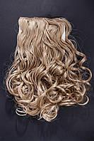 №7.Набор из 6 прядей,цвет блонд карамельный