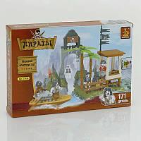 """AUSINI 27406 """"Пираты"""" (48) """"Пиратская бухта"""", 171 дет, уровень сложности **, в коробке"""