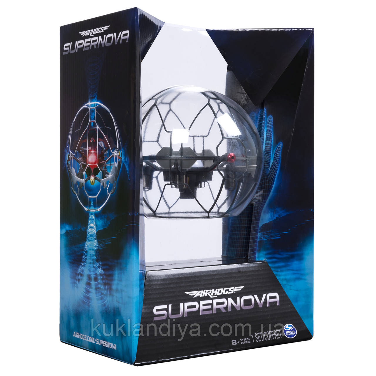 Air Hogs - Supernova Gravity Defying Hand Controlled Flying Orb