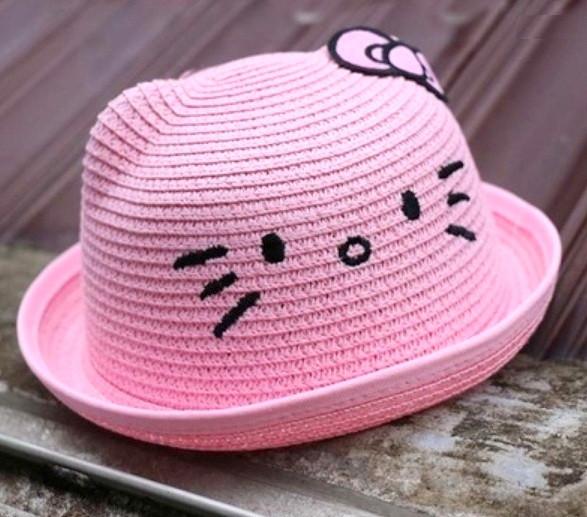 Шляпа Hello Kitty для девочки. 52 см