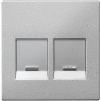 Центральная плата для модульных разъемов, алюминий Shneider Merten(MTN4562-0460)