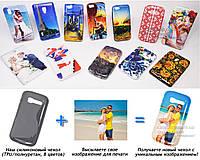 Печать на чехле для Alcatel 5036D OneTouch POP C5 (Cиликон/TPU)