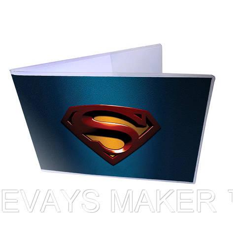 Обложка для зачётки Супермен, фото 2