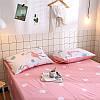 Комплект постельного белья Королевский фламинго (двуспальный-евро) Berni, фото 4