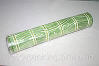 Фисташковая сетка для упаковки цветов шотландка с ежиком