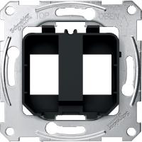 Опорные платы для модульного разъема, черный Shneider Merten(MTN4566-0003)
