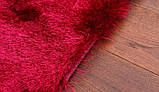 Ковер травка в спальню девочки, ковры малинового цвета, фото 3