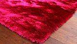 Ковер травка в спальню девочки, ковры малинового цвета, фото 2
