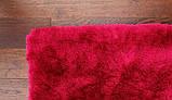 Ковер травка в спальню девочки, ковры малинового цвета, фото 4