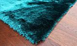 Індійські килими бірюзового кольору, яскраві килими в Одесі, фото 2
