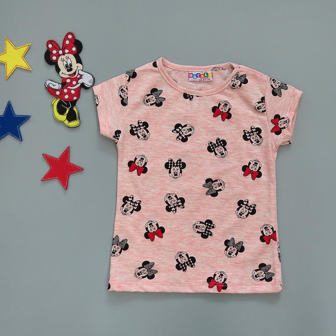 Футболка Minnie Mouse для девочки.