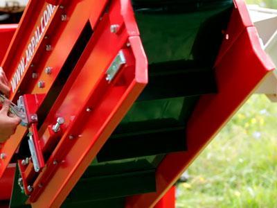 Складной конвейер датчики от обрыва цепи конвейера