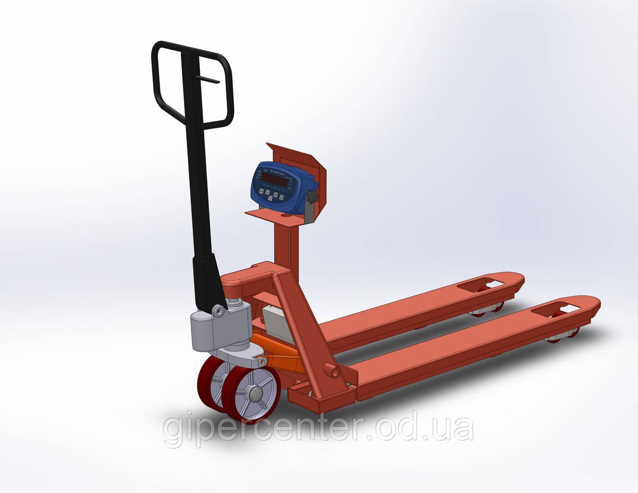 Рокла-весы AXIS 4BDU-1000P-BБ, НПВ: 1000 кг