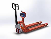 Рокла-весы AXIS 4BDU-1000P-BБ, НПВ: 1000 кг, фото 1