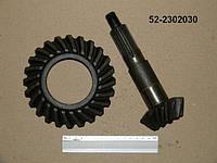 Шестерня ведомая и ведущаая ПВМ МТЗ-82 в комплекте 52-2302030