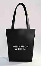 """Женская сумка """"Once upon a time"""" Б351 - черная"""
