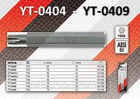 Насадки TORX, T25х75, YATO YT-0405