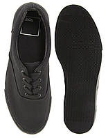 Кеди Asos Classic - Plimsolls Shoes Black/Black , фото 1