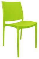 Пластиковый стул для ресторана Эмма  светло-зеленый