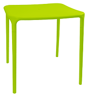 Пластиковый стол для летнего кафе Альф  светло-зеленый