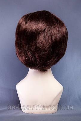 Короткие парики №1,цвет каштан с красным оттенком